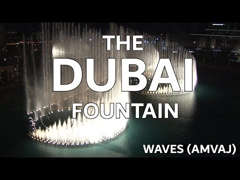 The Dubai Fountain: Waves (amvaj) - Shot edited With 5 Hd Cameras - 9 Of 9 (high Quality!) video
