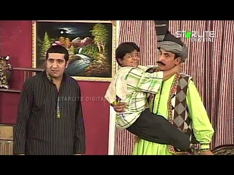 Hussan Diyan Mithian Iftikhar Thakur New Pakistani Stage Drama Full Comedy Funny Play