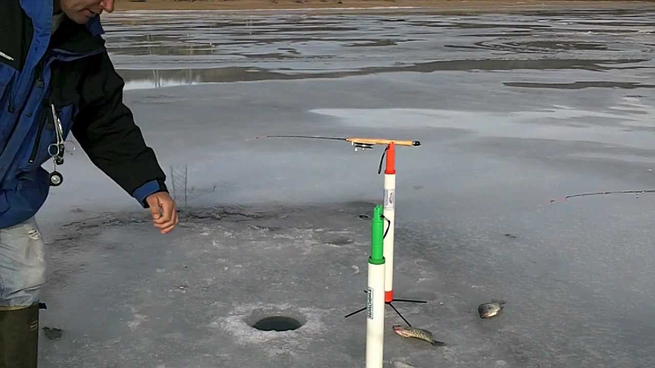 Tip Down Ice Fishing Crappies - YouTube