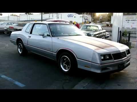 1985 Chevrolet Monte Carlo SS Super Sport V8 2 Owner Running Clean Project