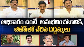 TDP Leaders serious comments on TDP MPs who joined BJP