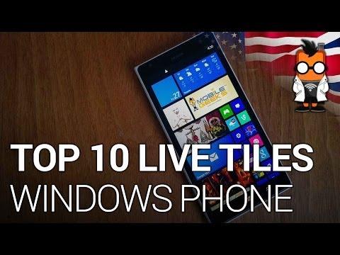 Top 10 Windows Phone Live Tiles