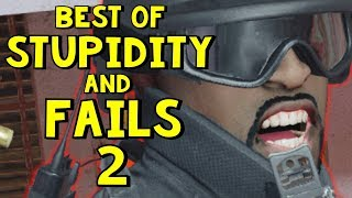 Best of Stupidity and Fails 2 | Rainbow Six Siege