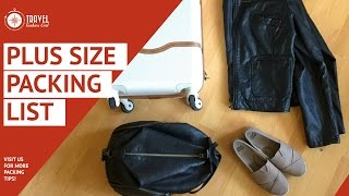 Plus Size Packing Carryon Only