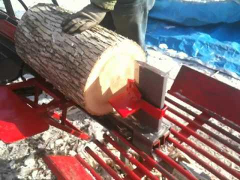 timberwolf tw-p1 w/ hydraulic log lift