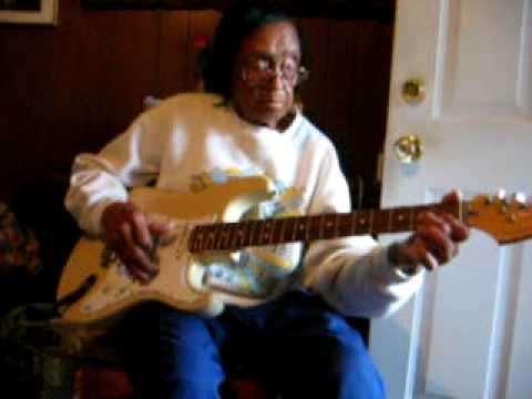 Etta Baker Playing Guitar