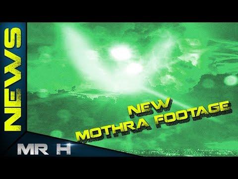 NEW Mothra Footage & Mothra Roar! Godzilla King Of The Monsters