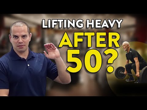 Weight Lifting Tips for Guys Over 50 (video reply)