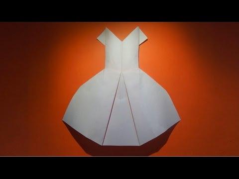 Как сделать платье из картона