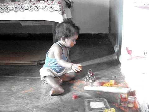 Bal Hanuman At Puja video