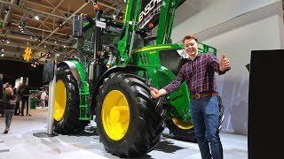 CHECKING OUT MY DREAM TRACTOR IN GERMANY AT AGRITECHNICA!! JOHN DEERE 6155R!