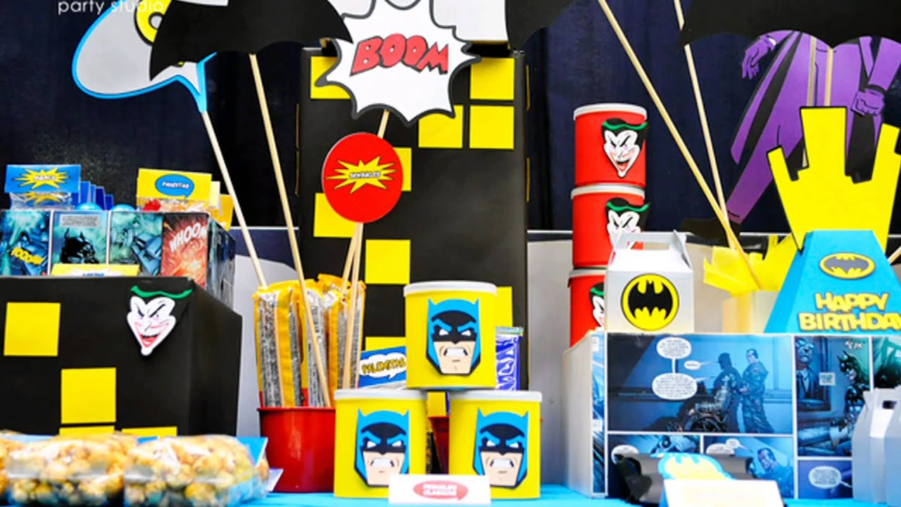 Ideas para una fiesta de batman youtube for Albercas para fiestas