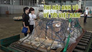 Người thân khóc nghẹn khi linh cữu Nghệ sĩ Anh Vũ về sân bay Tân Sơn Nhất