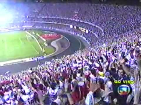 So Paulo 4 x 0 Atlético-PR Final da Libertadores 2005