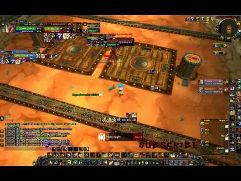 2v2 WoW Arena 2700 Paladin Warrior vs. Druid RetPaladin on Ring of Valor