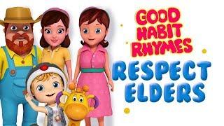 Respect Elders Good Habit Rhymes & Songs for Children   Infobells