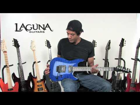 Laguna guitars featuring Greg Howe!