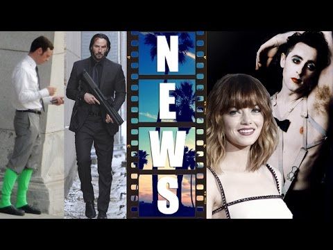 Batman v Superman's Metallo?! Keanu Reeves is Rain, Emma Stone in Cabaret - Beyond The Trailer