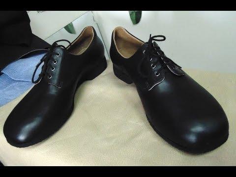 Как в ручную делают мужские туфли, обувь своими руками