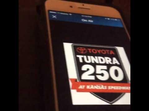 MRN RADIO Call Exciting Final Lap Tundra250 Kansas Speedway