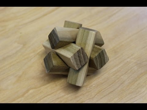 Woodworking projects puzzle box kit
