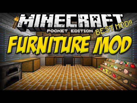 [0.11.0] FURNITURE MOD!! - Minecraft Pocket Edition