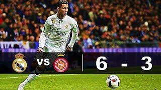 Real Madrid vs Girona 6-3 Resumen Goles La Liga 2018
