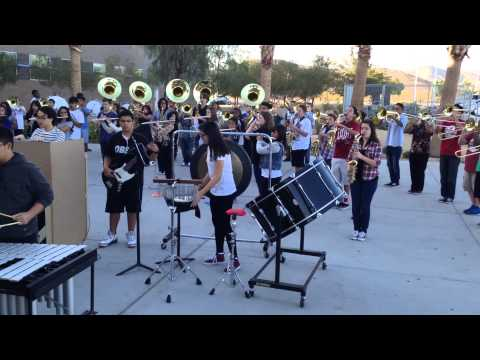 Desert Oasis High School Marching band 2014-15 Show Music