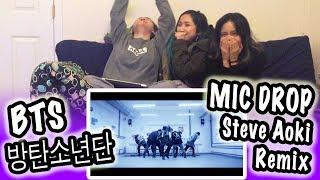 Download Lagu [KPOP REACTION] BTS 방탄소년단 -- MIC DROP (STEVE AOKI REMIX) Gratis STAFABAND
