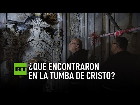 hubo una historica apertura de la tumba de cristo deja una inquietante duda