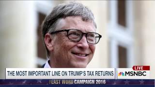 Trump's tax return PROVE HE IS NOT A BILLIONAIRE!!!!