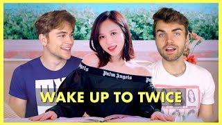 Twice Wake Me Up Music Audio Woke Fanboys React