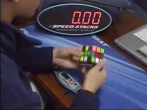 Rubik s cube One-Handed RNC ave:21.89 seconds
