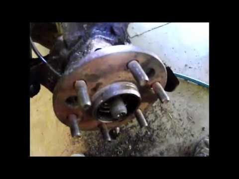 How To Replace a Front Wheel Bearing 1996-1998 Chevy GMC 1500  4x4 1/2 Ton Truck