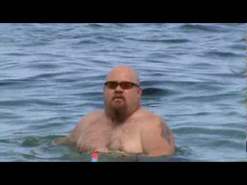 Fat Guy Water Dance