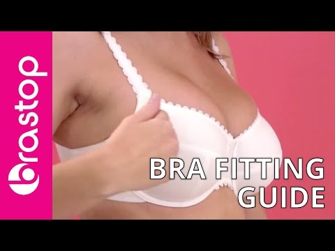 Bra Fitting Guide - Wearing the wrong bra size