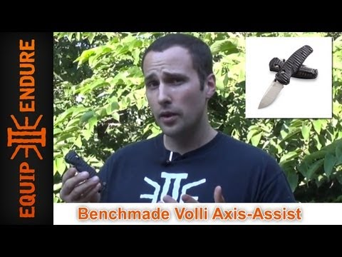 Benchmade Volli Axis Lock Forward Assist Pocket Knife Review. by Equip 2 Endure
