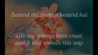 """""""Tum Saath Ho"""" Lyrics &English Translation- """"Tamasha"""" (2015)"""