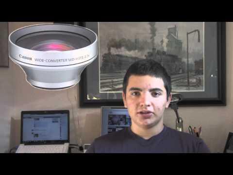 Canon VIXIA HF M301/M31 Camcorder Review
