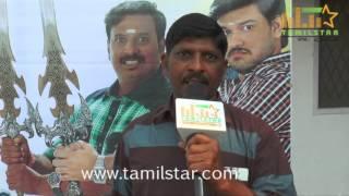 Gana Velu At Maanidan Movie Launch