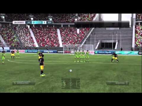 FIFA 12: Sdroventus in sdrogo live