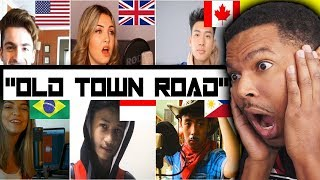 WHO SANG IT BETTER | Old Town Road ( us, uk, canada, Philippines, brazil, Indonesia ) | REACTION