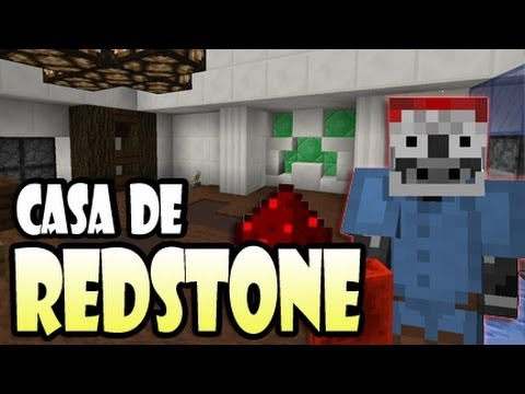 ¡CASA DE REDSTONE Minecraft 1.7.4 Download AUTOMATICA