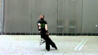 German Industrial Dance Battle Bewerbung J-Cyber
