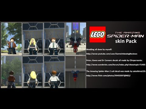 LEGO Marvel Super Heroes The Video Game TASM Skin Pack Mod