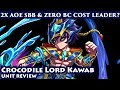 Crocodile Lord Kawab Unit Review (Brave Frontier Global)