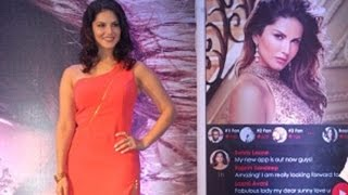 New App Launch of Sunny Leone With Sunny Leone