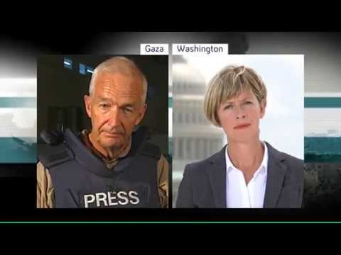 Channel 4 News - US and European airlines suspend Israel flights (22/7/14)