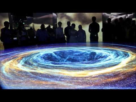 Лазерное шоу в павильоне Германии Наша Вселенная. ЭКСПО 2017 в Астане