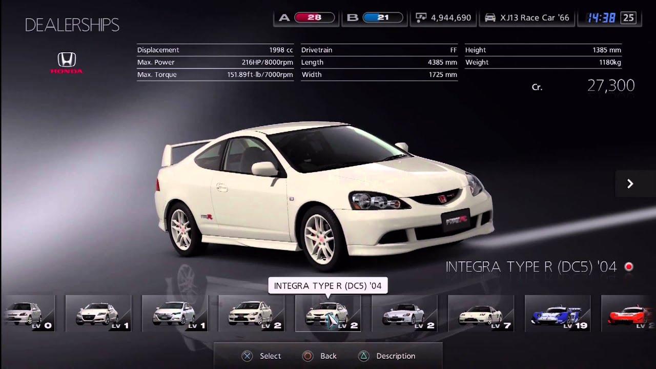 Gran Turismo  Car Dealer